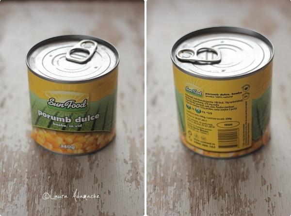 Supa de Porumb si Dovlecei -conserva SunFood
