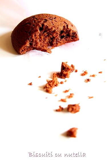 Biscuiti cu nutella - Nutella cookies