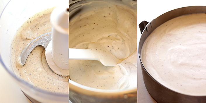 Cheesecake cu lapte de cocos mod de preparare