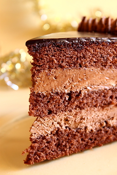 Chocolate Brandy Cake