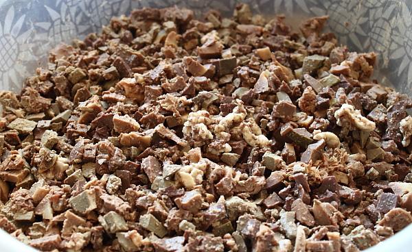 Drob de miel (fara prapure) - maruntire organe