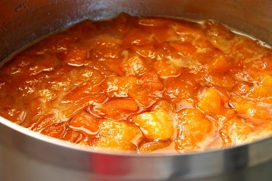 Gem de pepene galben la fiert