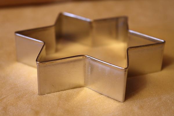 Gogosi cu lapte condensat - forma decupat gogosi