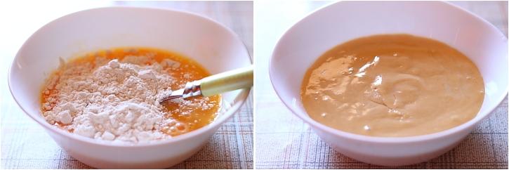 Preparare galuste de faina pentru papricas