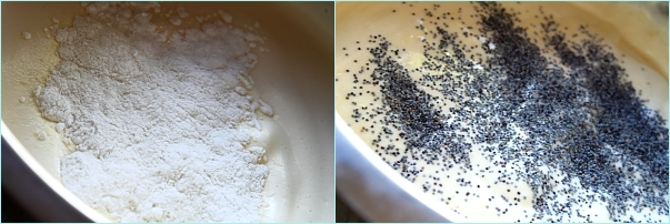 Tort cu crema de portocale si ciocolata alba - preparare blat