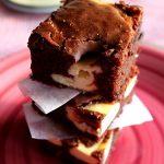 Prajitura Brownie Cheesecake