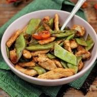 Salata calda de fasole verde