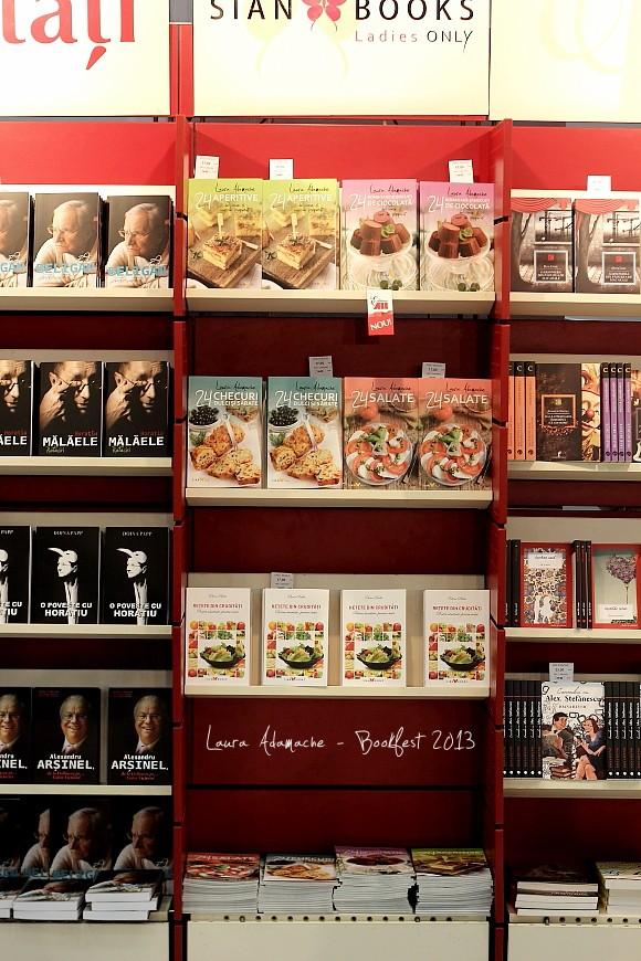 Bookfest 2013 - Carti de bucate Laura Adamache