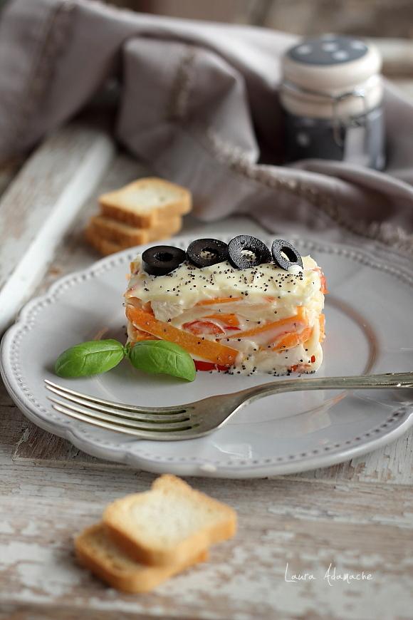 Salata Capricciosa - detaliu final