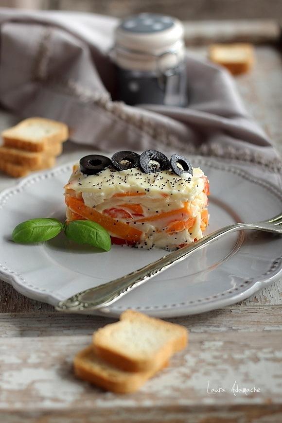 Salata Capricciosa-final prezentare