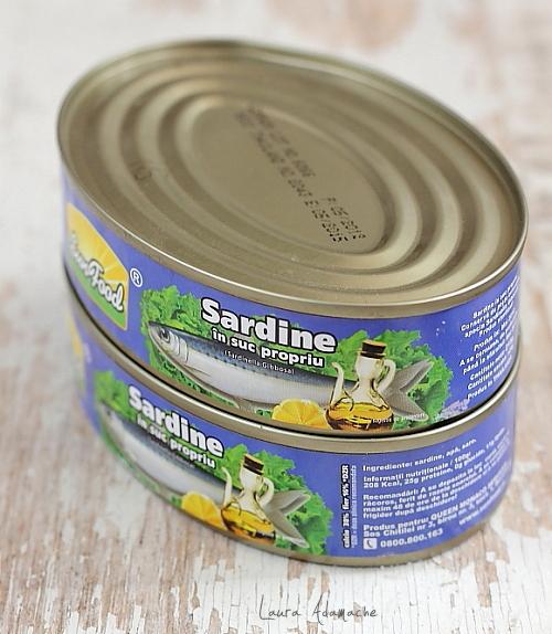 Sardine in suc propriu