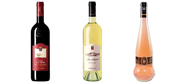 Vin Rosso di Montalcino, San Angelo Pinot Grigio Toscana, Vin rose CHATEAU SAINTE ROSELINE