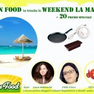 Sun Food te trimite in weekend la mare!