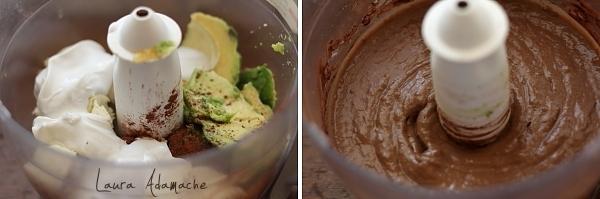 Crema de banane si avocado - preparare