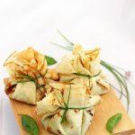Clatite umplute cu spanac si mozzarella Granarolo