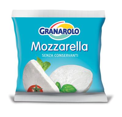Mozzarella Granarolo fara conservanti