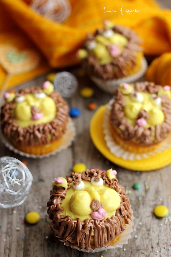 Leul curajos cupcake