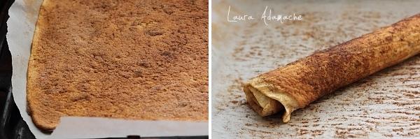 Preparare cinnamon rolls