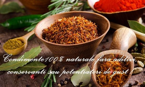condimente naturale