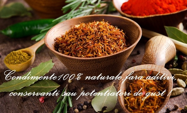 Concurs condimente naturale
