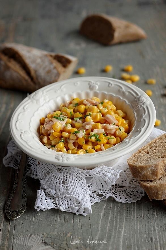 Salata calda de porumb Sunfood