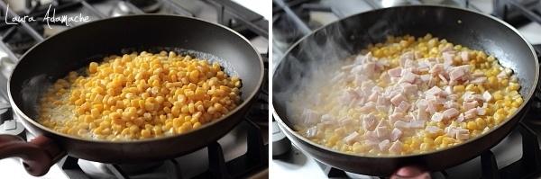 Preparare salata calda de porumb SunFood