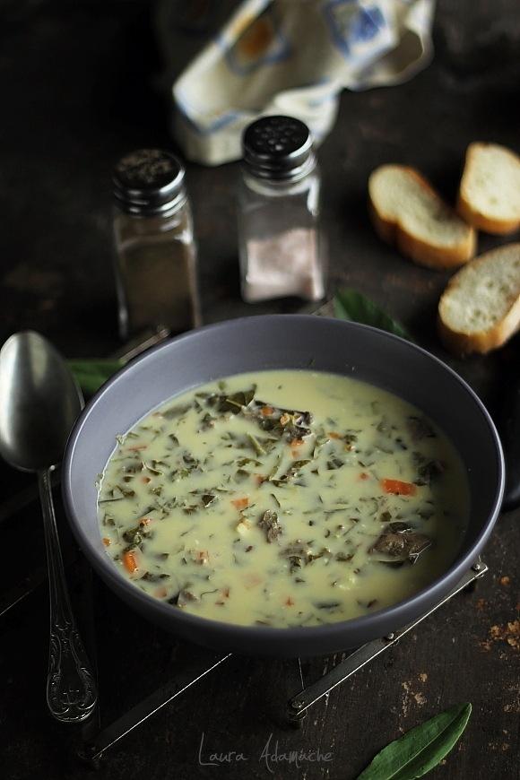 Supa de macris cu carne