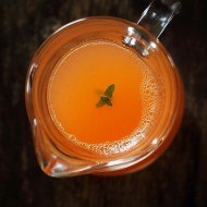 Suc de fructe cu ghimbir