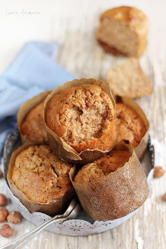Sectiune muffins tiramisù