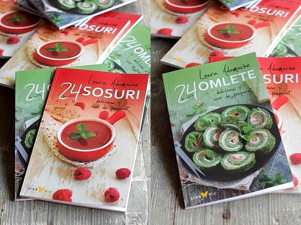 Carti 24 retete Sosuri si Omlete