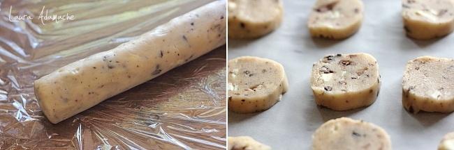 Aluat biscuiti cu faina de orez si ciocolata