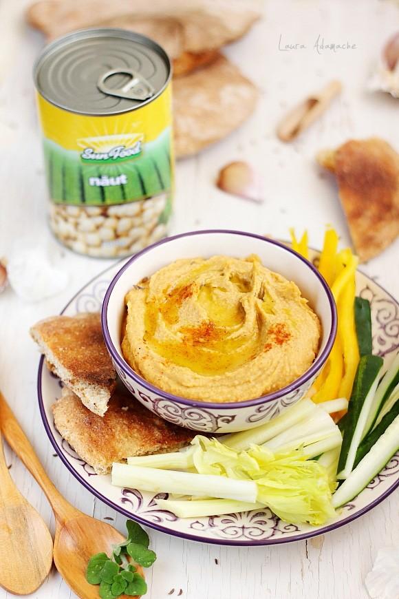 Hummus cu naut Sun Food