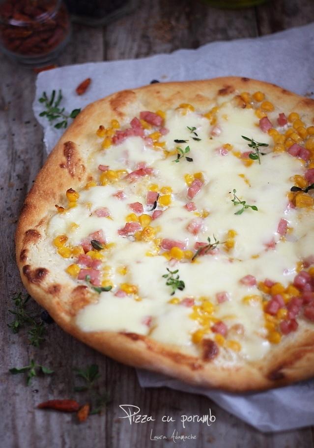 Pizza cu porumb Sun Food detaliu
