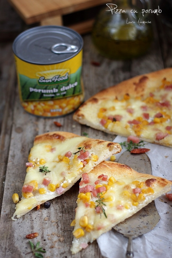 Pizza cu porumb Sun Food