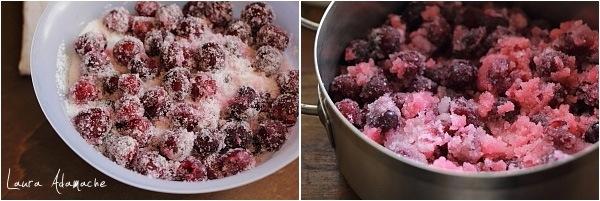 Preparare dulceata de cirese