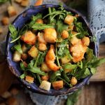 Salata cu naut si creveti
