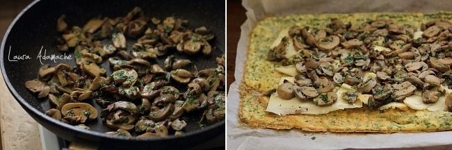 Preparare rulada de ciuperci Sun Food si cascaval
