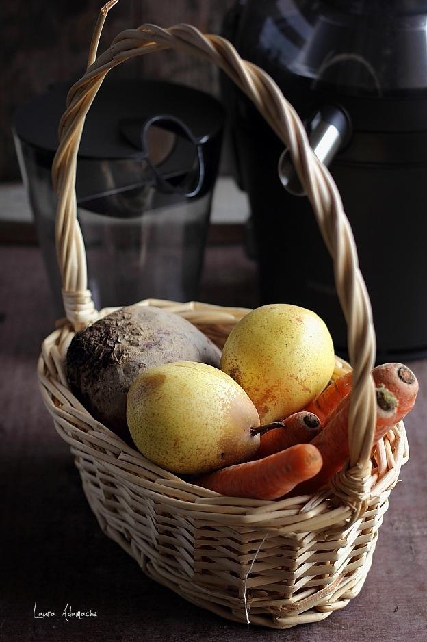 Cos fructe pentru suc