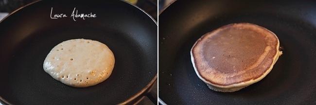 Prajire pancakes cu mere