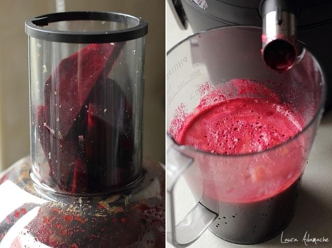 Preparare suc de sfecla