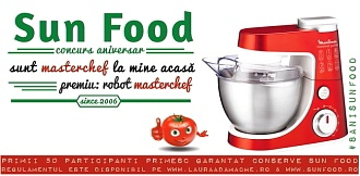 Masterchef cu Sun Food - www.lauraadamache.ro