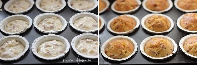 Muffins porumb in forma de muffins