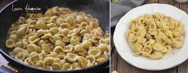 Orecchiette cu crema de naut Sun Food