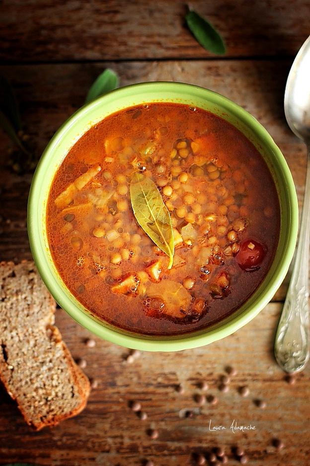 Bol supa de linte