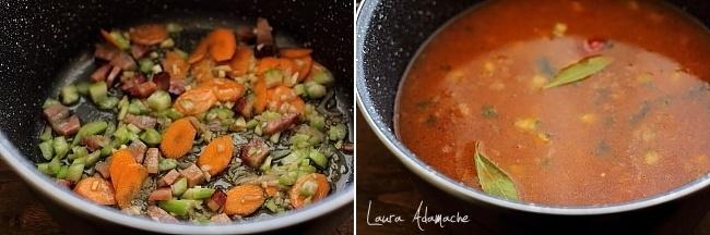 Preparare supa de linte
