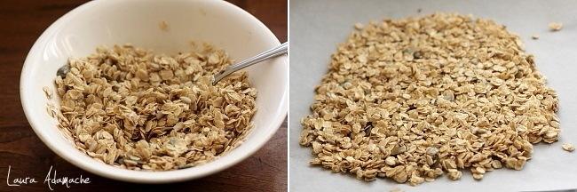 Preparare granola