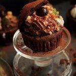Muffins cu crema de ciocolata