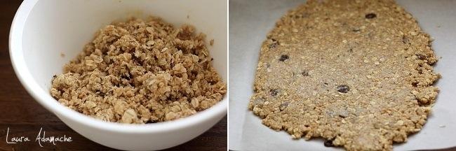 Preparare biscuiti cu fulgi de ovaz