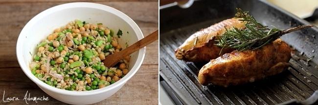preparare-salata-piept-puisalata-mazare-bob-preparare