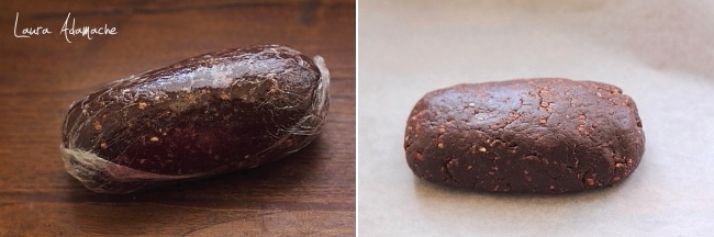 Rulada de biscuiti cu crema de ciocolata preparare compozitie